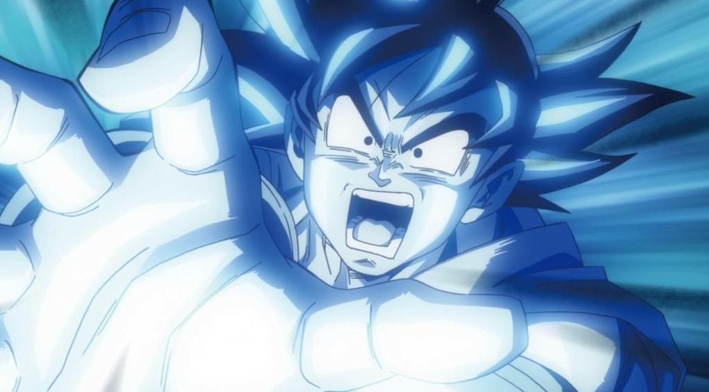 Goku en Dragon Ball Z La Resurrección de Freezer