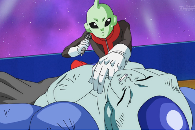 referí del Torneo Universal de Dragon Ball Super