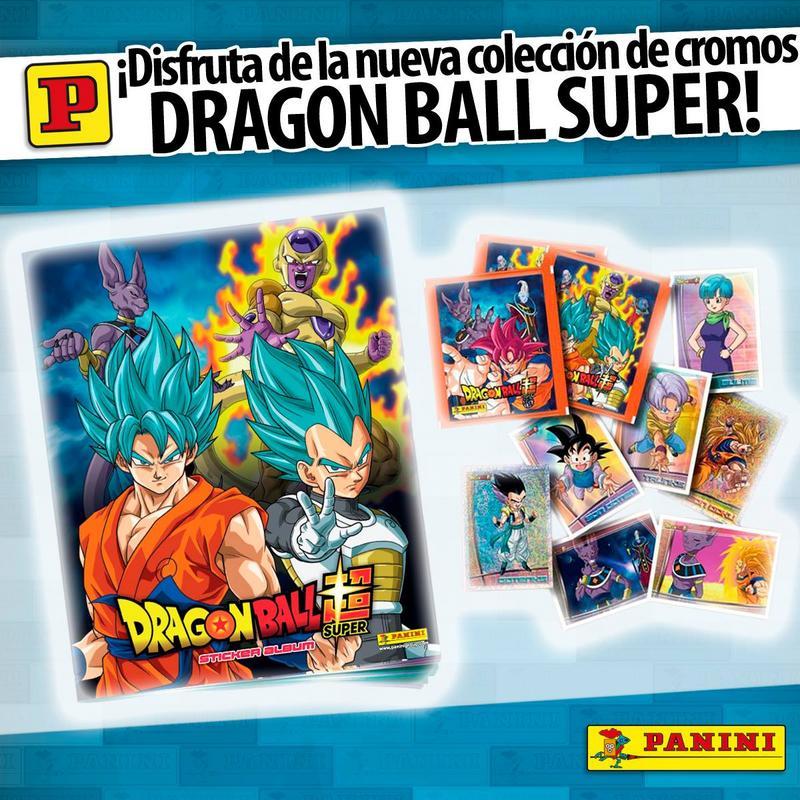 Panini presenta el nuevo album de Dragon Ball Super
